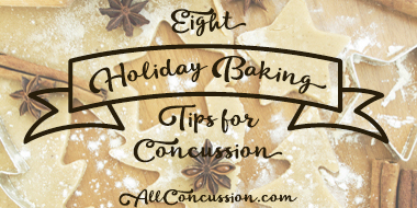 AllConcussion Holiday baking