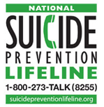 National Suicide Hotline: 1-800-273-8255