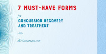 AllConcussion 7 Must-Have Forms for Concussion Recovery
